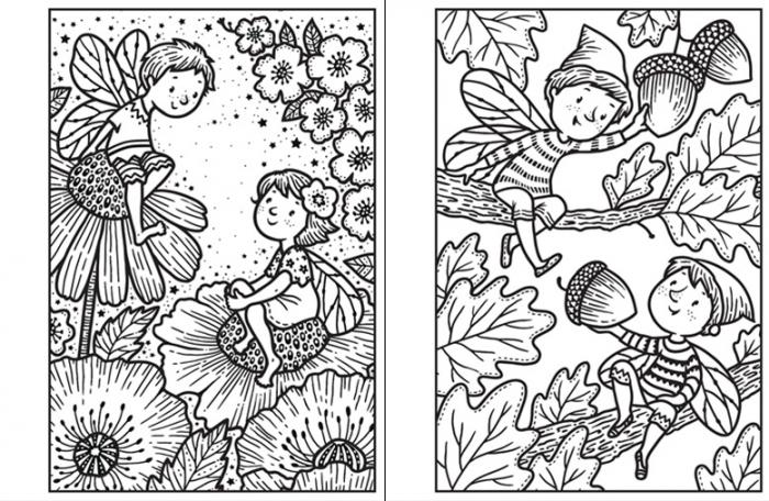 Mini Magic painting Fairies [3]