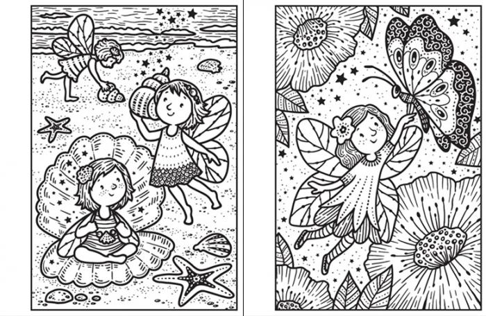 Mini Magic painting Fairies [1]