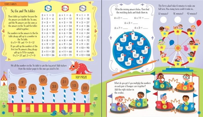 Multiplying and dividing activity book [3]