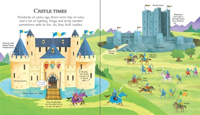 My very first castles book [1]
