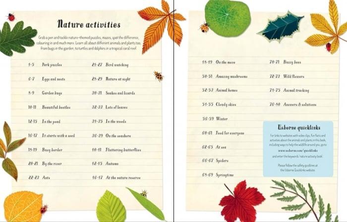 Nature activity book [4]