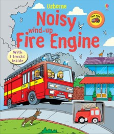Noisy wind-up fire engine [0]