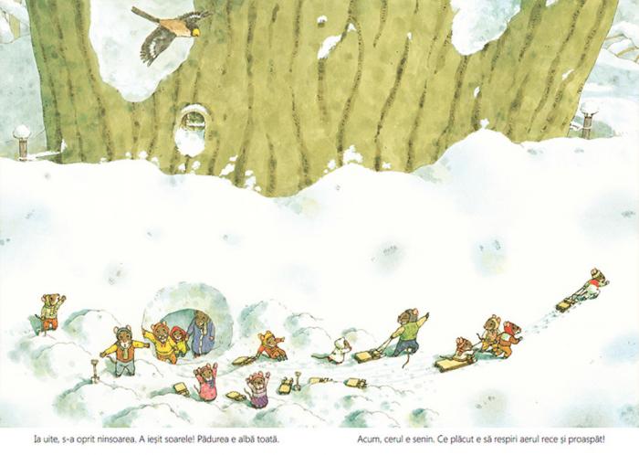 O zi de iarnă cu familia Șoricel [6]