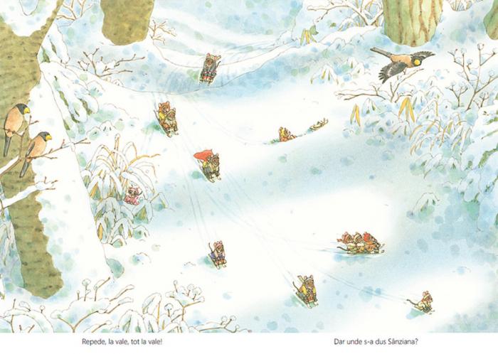 O zi de iarnă cu familia Șoricel [7]