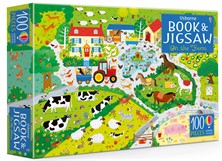 On the farm puzzle book and jigsaw [0]