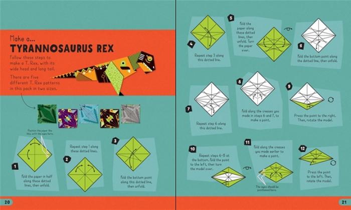 Origami dinosaurs [3]