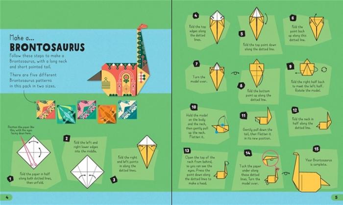 Origami dinosaurs [1]