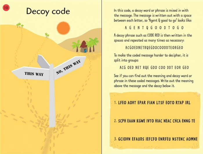 Over 50 secret codes [1]