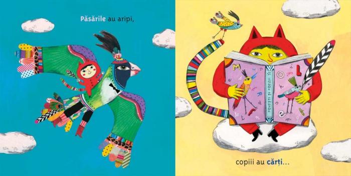 Păsările au aripi, copiii au cărți [4]