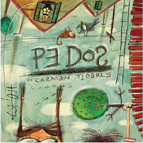 Pe dos. Poezii cu prostii pentru copii – cartonata [0]