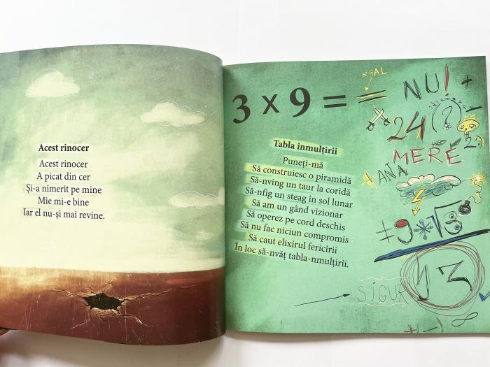 Pe dos. Poezii cu prostii pentru copii – necartonata [4]