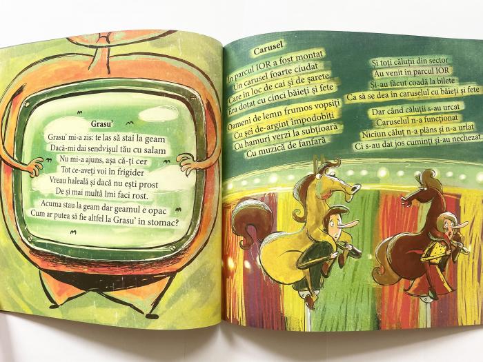 Pe dos. Poezii cu prostii pentru copii – necartonata [5]