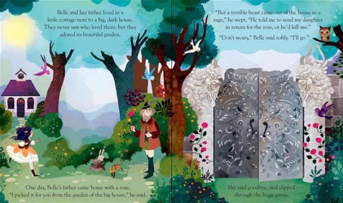 Peep inside a fairy tale: Beauty and the Beast [1]
