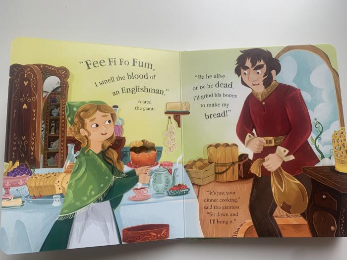 Peep inside a fairy tale: Jack and the Beanstalk [5]