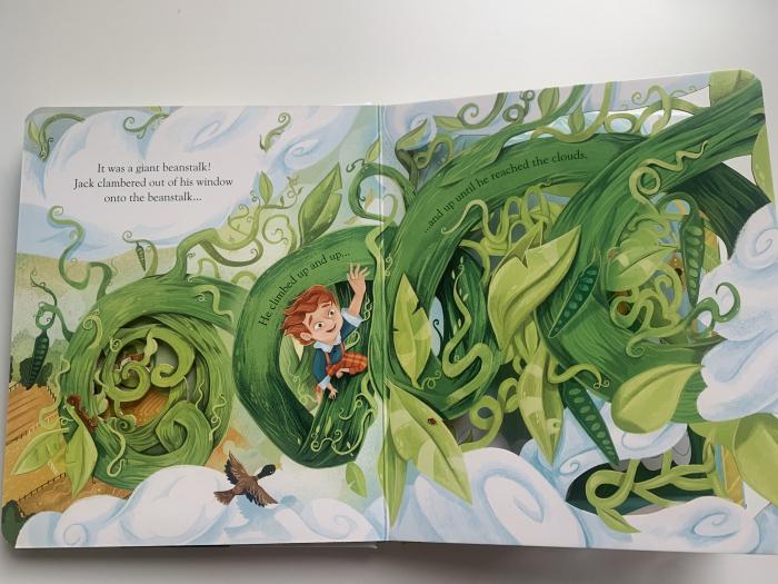 Peep inside a fairy tale: Jack and the Beanstalk [3]
