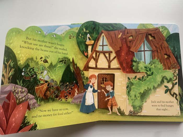 Peep inside a fairy tale: Jack and the Beanstalk [2]