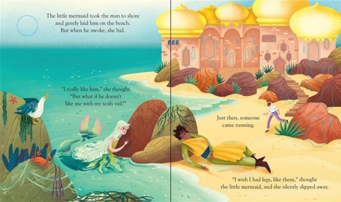Peep inside a fairy tale: The Little Mermaid [3]