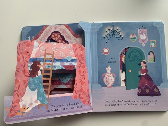 Peep inside a fairy tale: The Princess and the Pea [5]