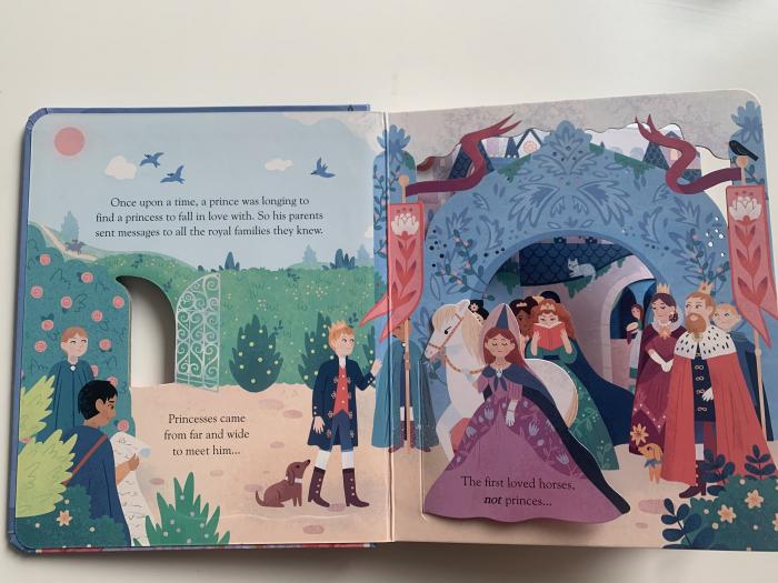 Peep inside a fairy tale: The Princess and the Pea [1]