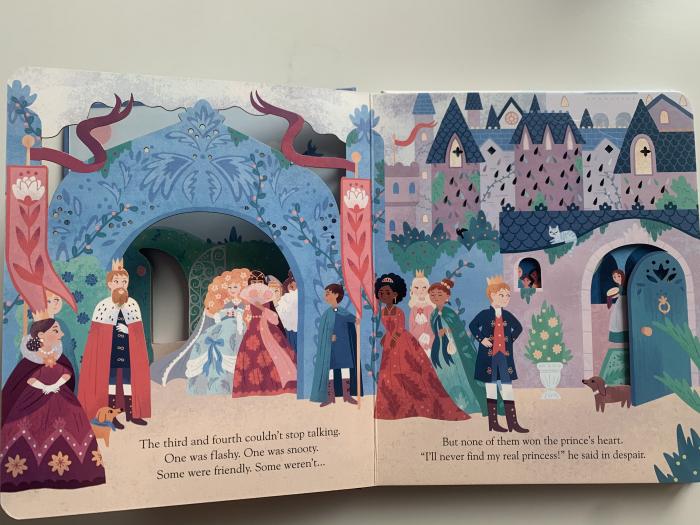 Peep inside a fairy tale: The Princess and the Pea [2]
