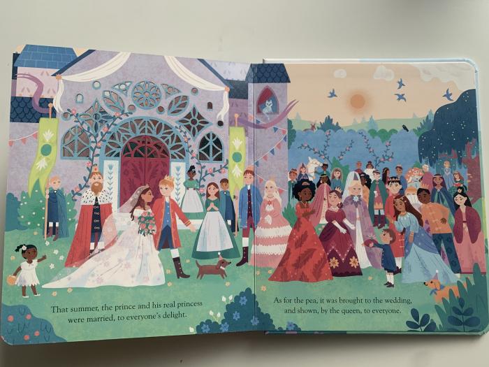 Peep inside a fairy tale: The Princess and the Pea [7]