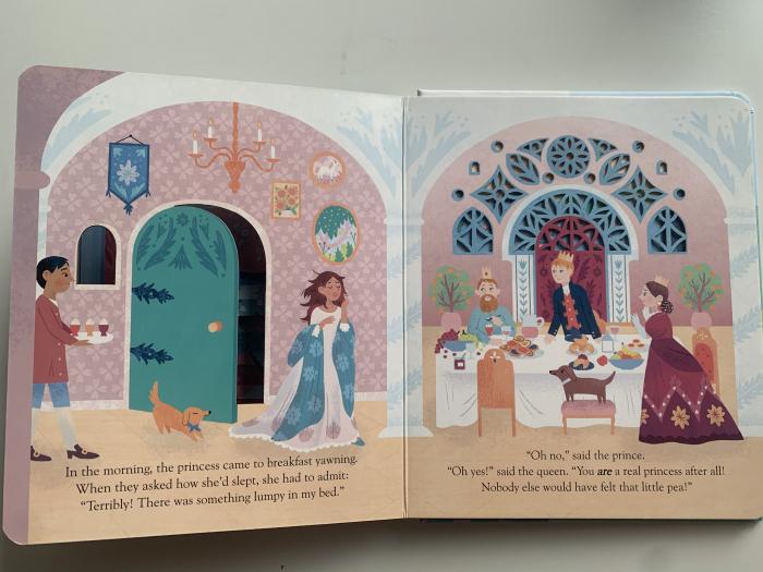Peep inside a fairy tale: The Princess and the Pea [6]