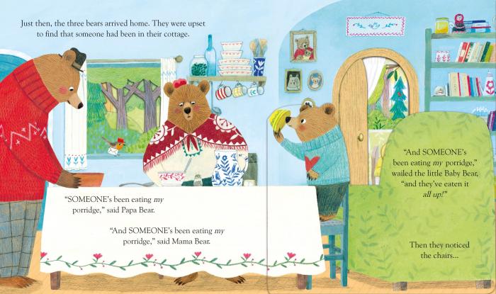 Peep Inside Goldilocks & The Three Bears [1]