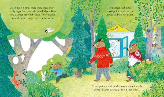 Peep Inside Goldilocks & The Three Bears [3]