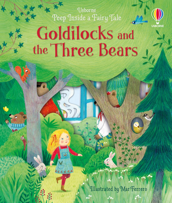 Peep Inside Goldilocks & The Three Bears [0]