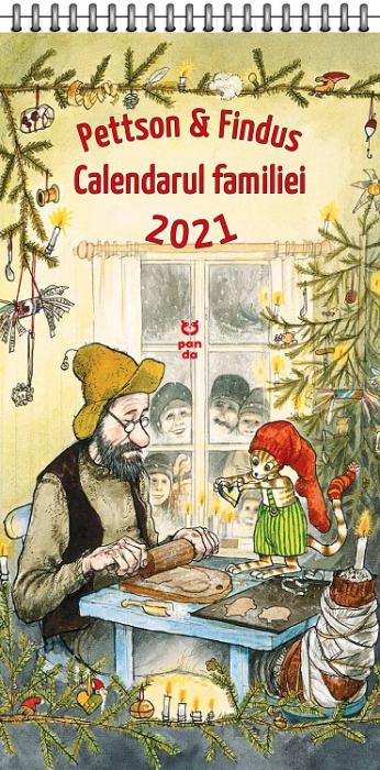 Pettson și Findus. Calendarul Familiei 2021 [0]