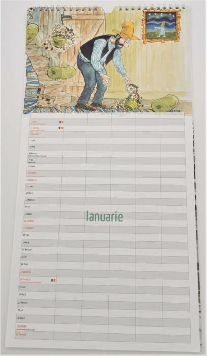 Pettson și Findus. Calendarul Familiei 2021 [1]