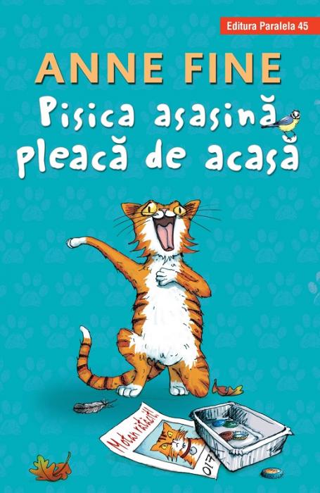 PISICA ASASINA PLEACA DE ACASA (HARDCOVER) [0]