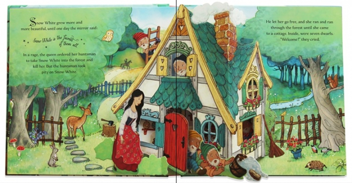 Pop-up Snow White and the Seven Dwarfs [1]