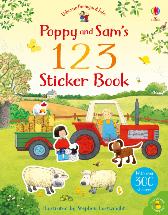 Poppy and Sam's 123 Sticker Book [0]