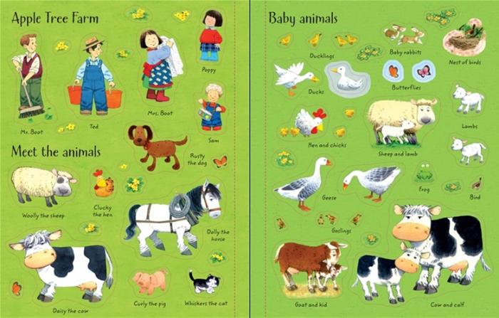 Poppy and Sam's animals sticker book [1]
