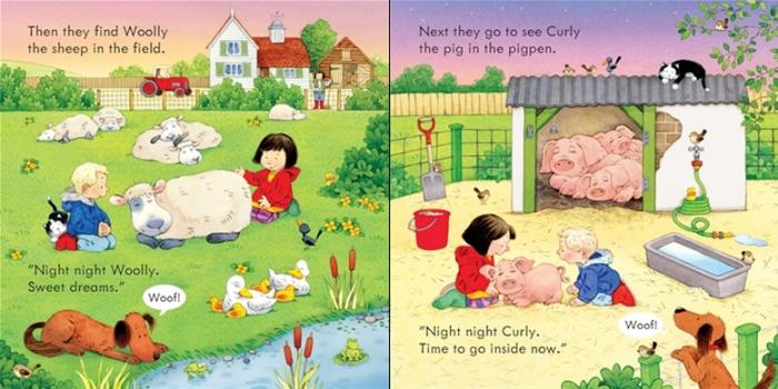 Poppy and Sam's Bedtime [3]