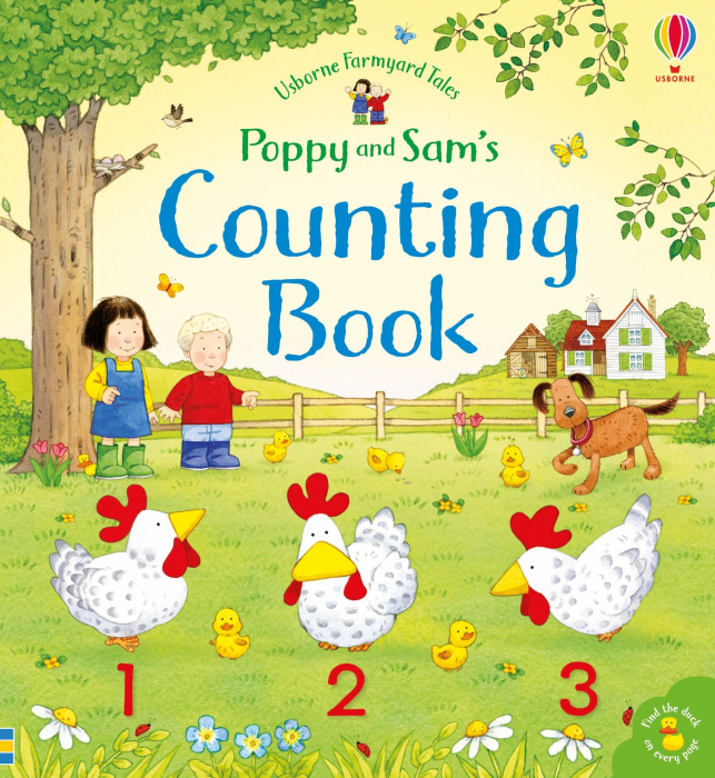 Poppy and Sam's Counting Book [4]