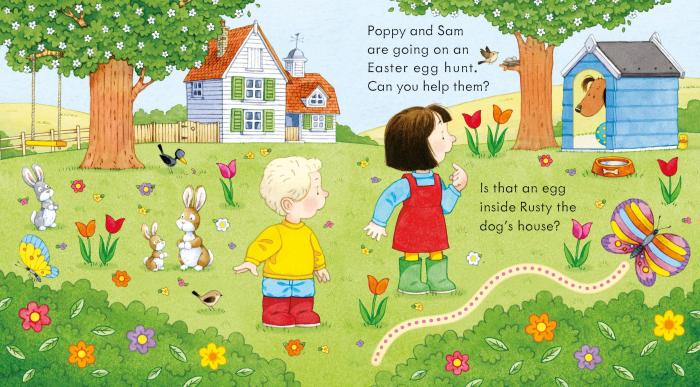 Poppy and Sam's Easter Egg Hunt [2]