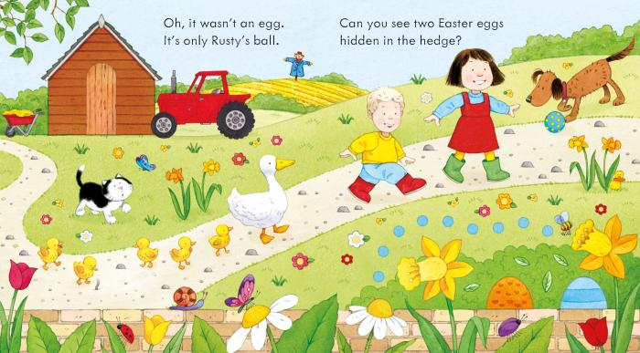 Poppy and Sam's Easter Egg Hunt [1]