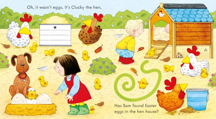 Poppy and Sam's Easter Egg Hunt [3]