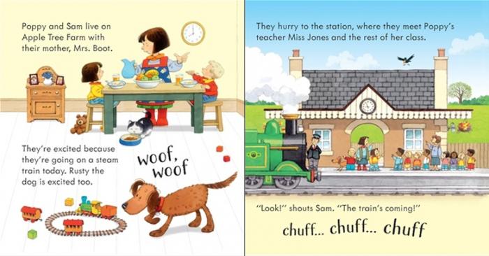 Poppy and Sam's noisy train [1]