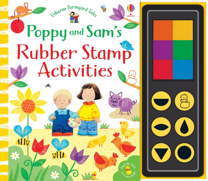 Poppy and Sam's rubber stamp activities [0]
