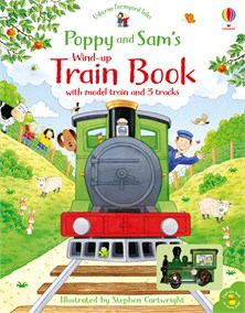 Poppy and Sam's Wind-Up Train Book [0]