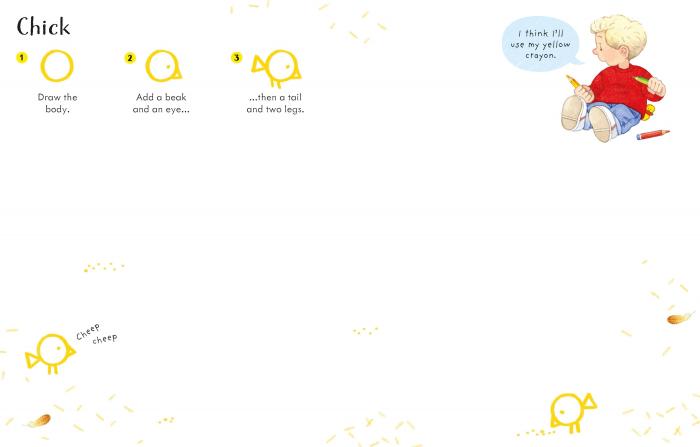 Poppy & Sam's Step-By-Step Drawing Book [6]