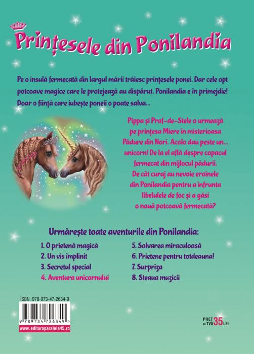 Prinţesele din Ponilandia 4. Aventura unicornului (ediție cartonată) [1]