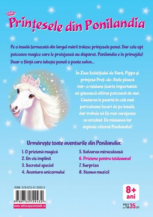 Prinţesele din Ponilandia 6. Prietene pentru totdeauna [1]