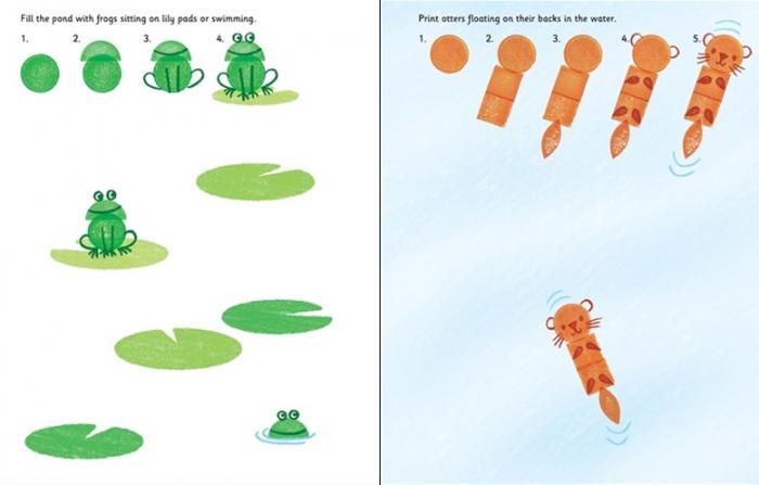 Rubber stamp activities animals [2]