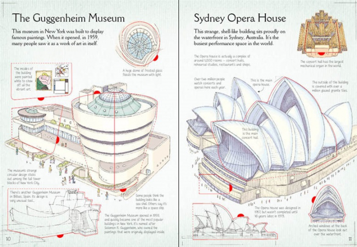 See inside famous buildings [3]