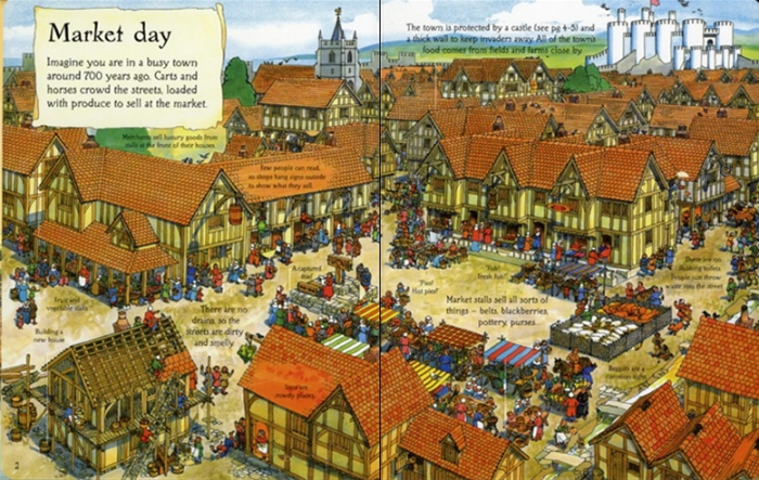 See inside The Middle Ages [1]