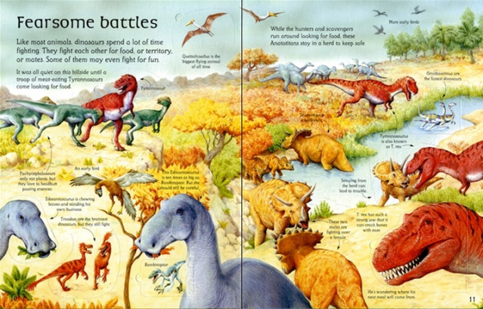 See inside the world of dinosaurs [2]